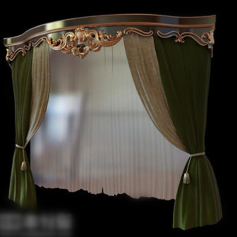 Hotel Curtains 3d Max Model Free (3ds,Max) Free Download