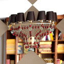 Golden Crystal Pendant Lamp 3d Max Model Free