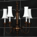 European Retro Chandelier Style 3d Max Model