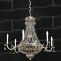 Crystal Curtains Candles Pendant 3d Max Model Free