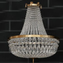 Hermosa lámpara colgante de cristal