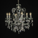 Luxury Crystal Pendent Lamp 3d Max Model
