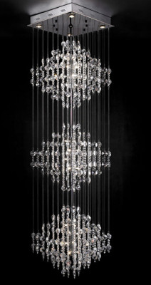 Ultra modern Crystal Chandelier 3d Max Model (3ds,Max) Free ...