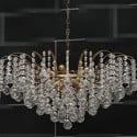 Heart Shaped Crystal Curtain Chandelier 3d Max Model
