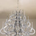 European Cake Layer Crystal Chandelier 3d Max Model