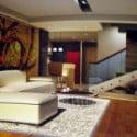 الحد الأدنى الحديثة غرفة المعيشة دوبلكس
