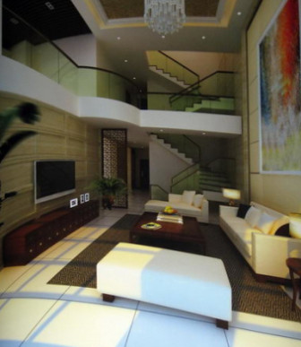 Modern Luxury Villa Living Room