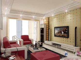 Cozy Villa Living Room Interior Scene 3d Model 3ds Max Open3dmodel 17329
