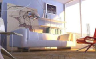 Minimalist Sunshine Sitting Room
