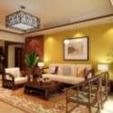 Modern Sun Living Room 3d Max Model Free