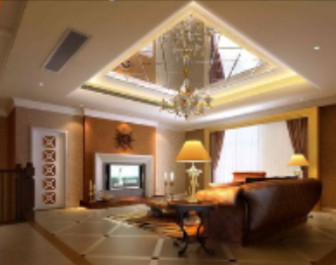 Roof Mirror Living Room Design 3d Max Model Free 3ds Max