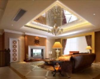 Roof Mirror Living Room Design 3d Model 3ds Max Open3dmodel 17389