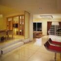 Dekorerat Living Rom Space