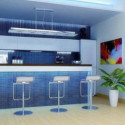 Beverage And Food Counter Interior Space 3d Max Model