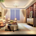 European Modern Warm Cozy Living Room 3d Max Model Free