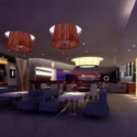 Romantic Restaurant Interior 3d Max Model Free
