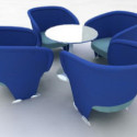 Company Meeting Table Set Furniture