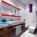 Modern Bright Bathroom Design 3d Max Model Free