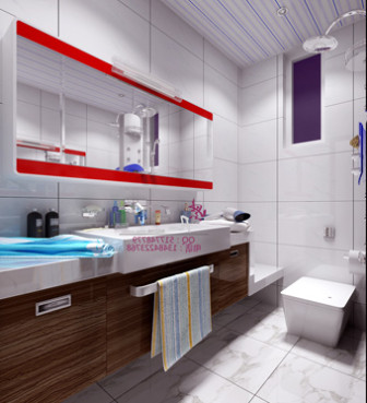 Modern Bright Bathroom Design 3d Max Model Free 3ds Max Free Download Id17509