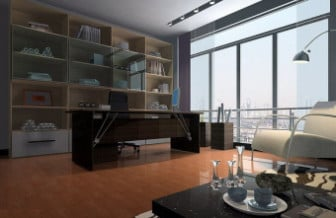 Modern Interior Design Library Room 3d Model 3ds Max Open3dmodel 17521