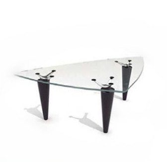triangle glass coffee table 3d max model free (3ds,max) free