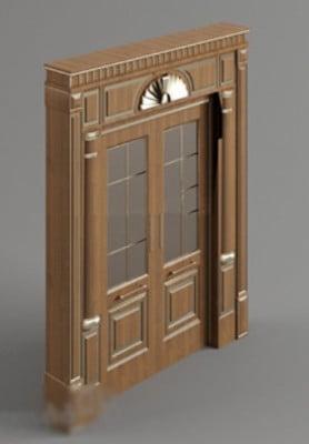 European Wooden Door 3d Max Model Free 3ds Max Free Download Id17560