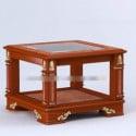 Mesa de chá de madeira retrô