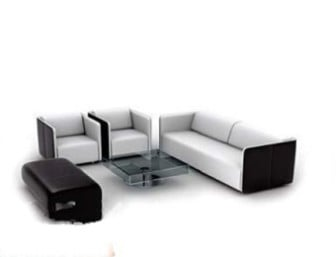 Furniture Combination Sofa 3d Max Model (3ds,Max) Free