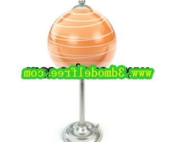Lollipop Shape Table Lamp 3d Max Model Free