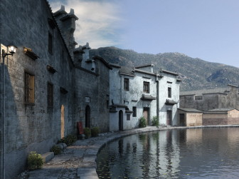 Chinese Ancient Building Style