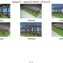 Park Flower Rack Corridor 3d Max Model