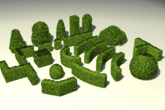 Garden Bushes 3d Max Model 3ds Max Free Download