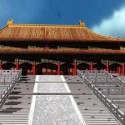Beijing Palace Museum Ancient  Building Model