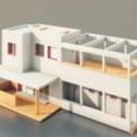 Modern Villa Building 3d Max Model
