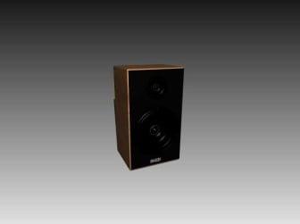 Appliances Speaker 3d Max Model