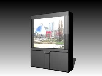 Big Television 3d Max Model