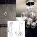 Creative Crystal Chandelier lamp 3d Max Model