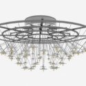 Chinese Traditional Crystal Chandelier 3d Max Model