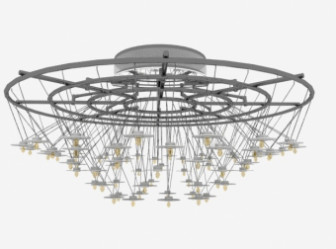 Chinese Traditional Crystal Chandelier 3d Max Model (3ds,Max) Free ...