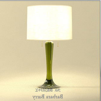 Glass Base Table Lamp 3d Max Model Free