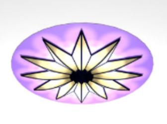 Fashion Ceiling Lamp Decorative 3d Max Model