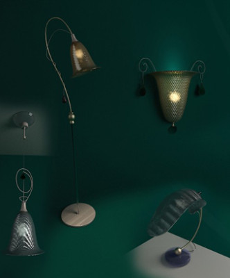 European Wall Lamp 3d Max Model Free