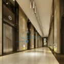 Luxury Corridor Interior Scene