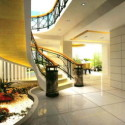 Modern Staircase Interior Scene