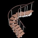 Spiral Staircase Design 3d Model