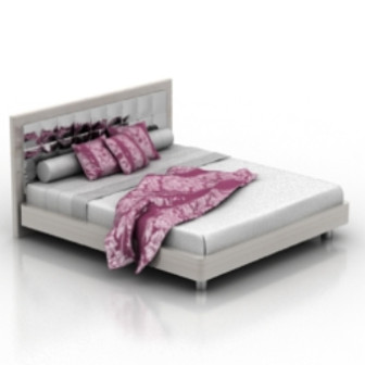 Boudoir bed 3d max model free 3ds max free download for 3ds max bed model