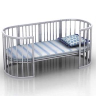 Crib 3d Max Model Free