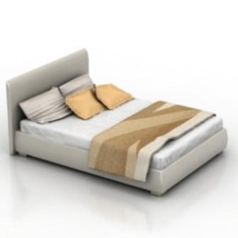 Bed 3d Max Model Free