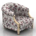 Antique Armchair 3d Max Model Free