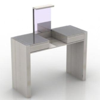 Modern Dresser 3d Max Model Free
